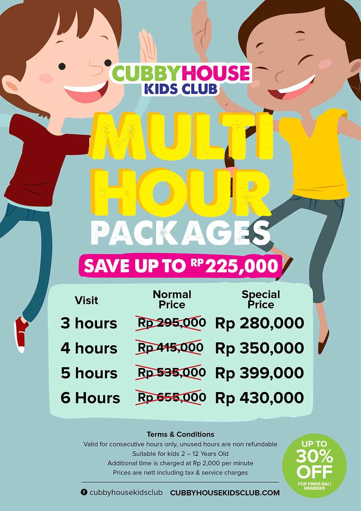 Cubby House Kids Club Bali Multi Hour