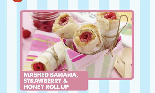 Kids-Kitchen-Mashed-Banana-Strawberry-Honey-Roll-Up