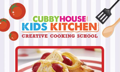 Cubby House Kids Kitchen Creative Cooking School